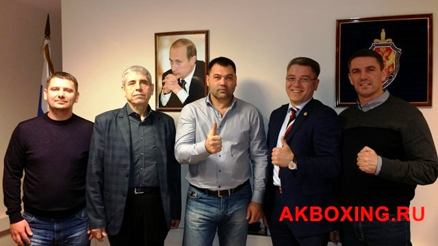 Рамиль Габбасов встретился с Андреем Курнявкой и Сергеем Котом (1)