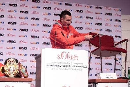 Кубрат Пулев не пришел на пресс-конференцию с Владимиром Кличко (1)