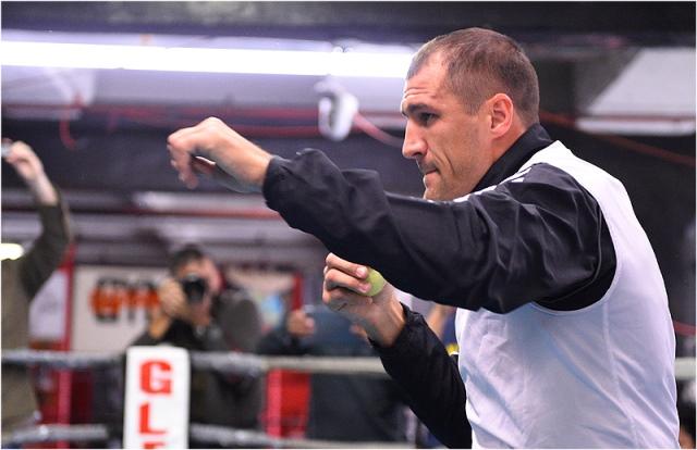 Сергей Ковалев и Бернард Хопкинс провели открытую тренировку (1)
