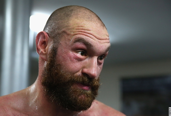 Тайсон Фьюри отрастил рыжую бороду (1)