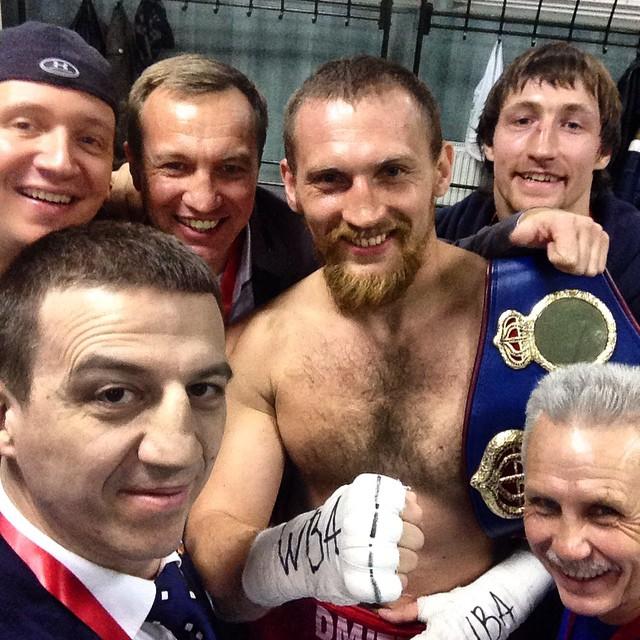 Григорий Дрозд, Денис Лебедев и Дмитрий Кудряшов в марте 2015 (3)