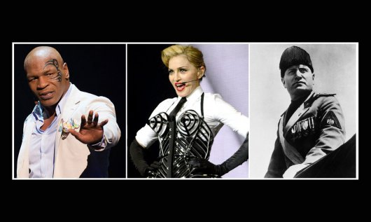 Майк Тайсон, Мадонна и Муссолини (1)