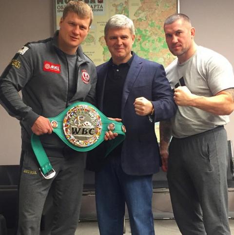 Александр Поветкин получил пояс WBC Silver (1)