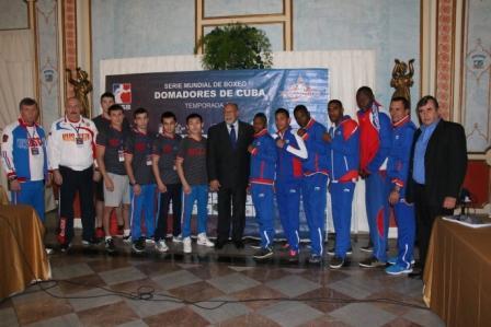WSB: Сборная России уступила сборной Кубы (1)