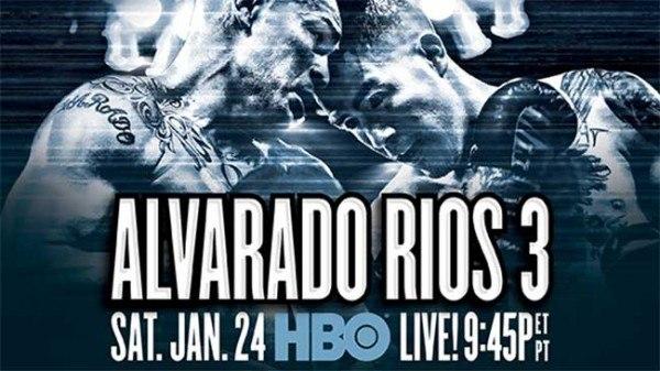 Шоу в Блумфилде: Риос - Альварадо III,  Власов - Санчес (1)