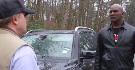 Эвандер Холифилд против агрессивного поведения на дороге  (1)