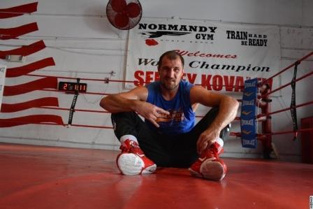 Сергей Ковалев: Моя цель – объединить все 4 титула в своем дивизионе (4)