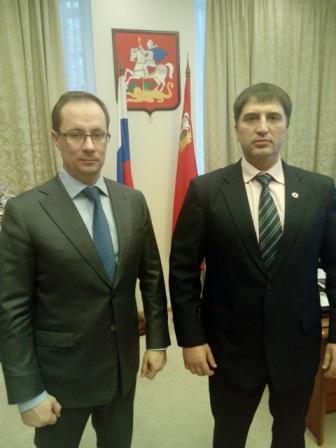 Руководство Подмосковья отметило работу Федерации профессионального бокса (2)