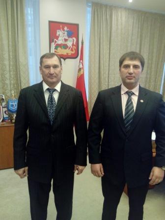 Руководство Подмосковья отметило работу Федерации профессионального бокса (1)