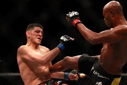 Андерсон Сильва победил по очкам Ника Диаза на UFC 183 (1)