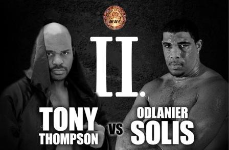 Тони Томпсон заставил капитулировать Одланьера Солиса (1)