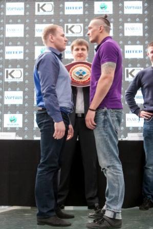 Пресс-конференция Александра Усика и Андрея Князева (1)