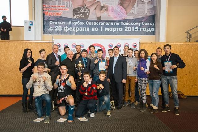 В Севастополе прошел розыгрыш Кубка города по тайскому боксу (2)
