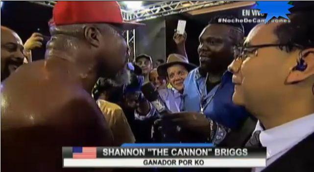 Гильермо Джонс бросил вызов Шеннону Бриггсу (1)