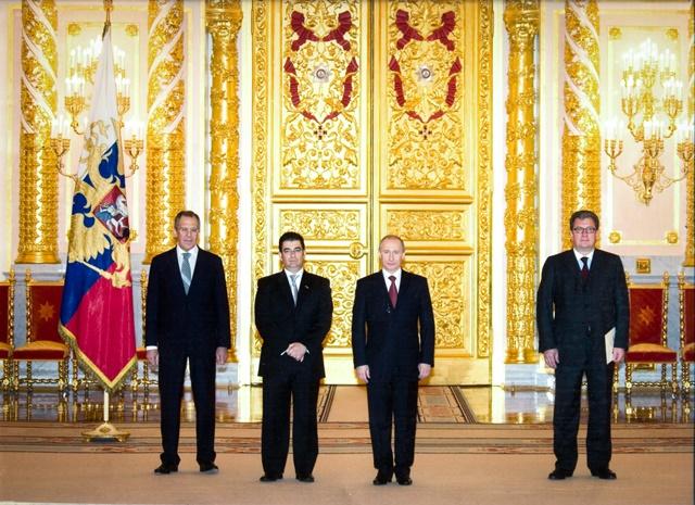 Посол Республики Эквадор, Патрисио Чавес Савала: Владимир Путин - сильный политик! (2)