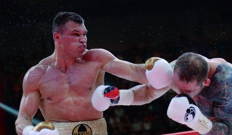 Григорий Дрозд успешно защитил титул чемпиона Мира WBC (1)