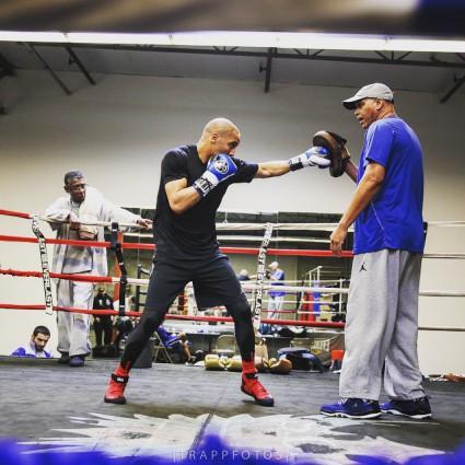 Андре Уорд интенсивно готовится к бою с Полом Смитом (4)