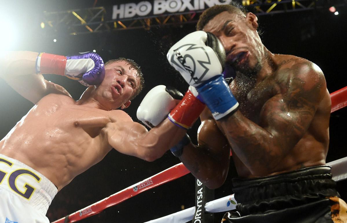 Геннадий Головкин нокаутировал Вилли Монро-младшего в шестом раунде (1)