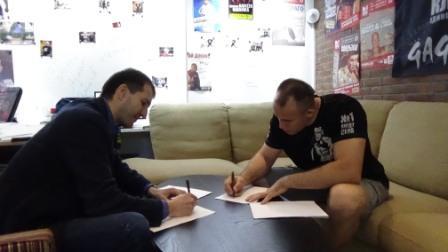 Алексей Олейник пополнил состав Клуба Единоборств №1 (1)