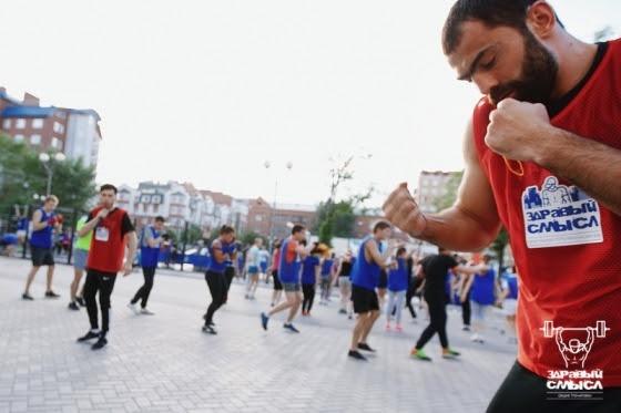 Олимпийский чемпион по боксу Рахим Чахкиев провел мастер-класс в Тюмени (1)