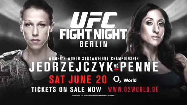 Прямая трансляция UFC Fight Night 70: Иоанна Енджейчик - Джессика Пенне (1)