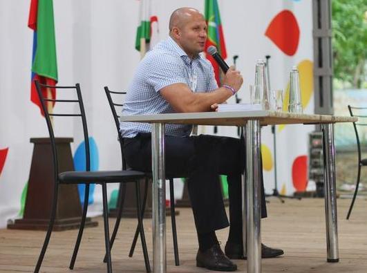 Федор Емельяненко: Сейчас мы ведем переговоры с чемпионом UFC Фабрицио Вердумом (1)
