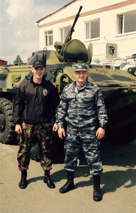 Егор Мехонцев задержал грабителя в США (1)