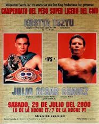 Бокс в этот день: Костя Цзю - Хулио Сезар Чавес (1)