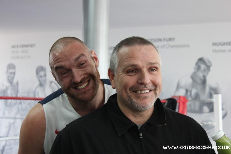 Питер Фьюри: Мы хотим драматичного поединка с Кличко с сильным финалом (1)