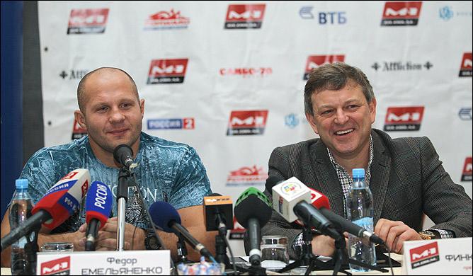 Федор Емельяненко: Пришло время вернуться на ринг (2)