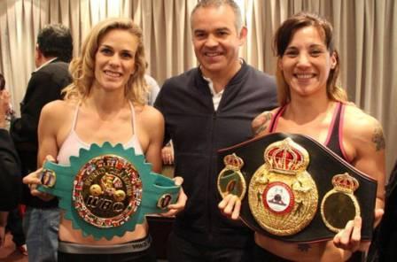 Эдит Матиссе победила Хелену Мрденович и стала чемпионкой Мира WBC и WBA (1)