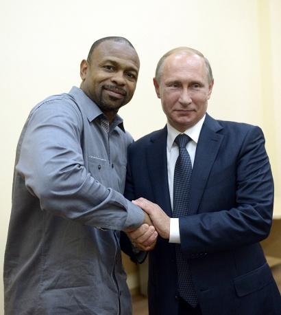 Владимир Путин пообещал Рою Джонсу младшему российское гражданство (1)