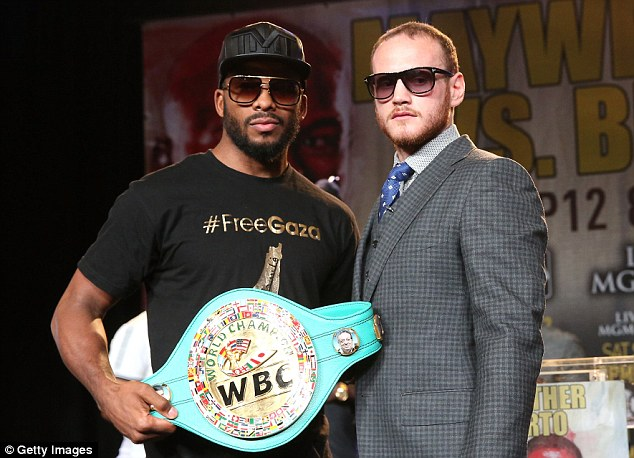 Чемпион WBC, Баду Джек, выйдет на ринг в андеркарде Мэйвезер - Берто (1)