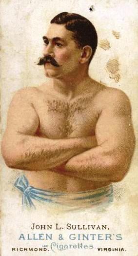 Бокс в этот день: Джон Салливан нокаутировал Джейка Килрейна в 75 раунде! (1)