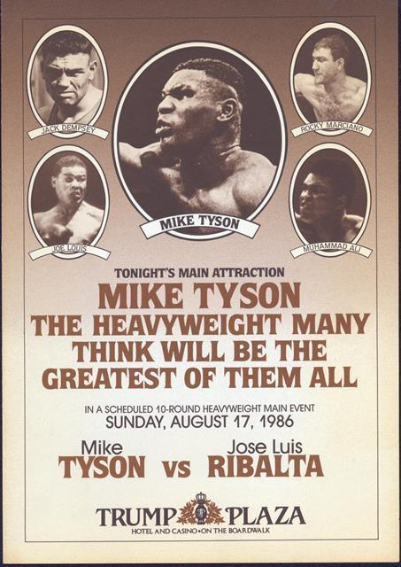 Бокс в этот день: Как Майк Тайсон в 26 поединке остановил Хосе Рибалту (1)