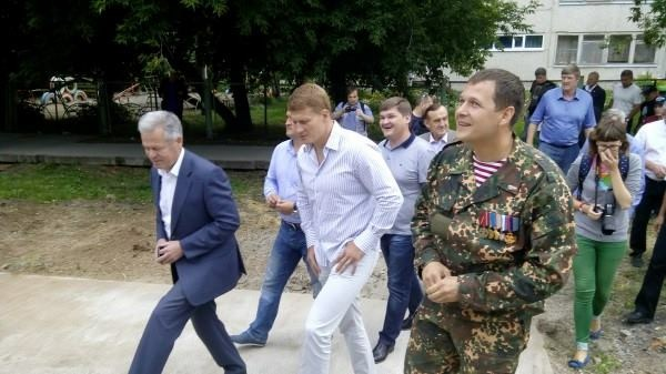Александр Поветкин посетил Каменск-Уральский (1)