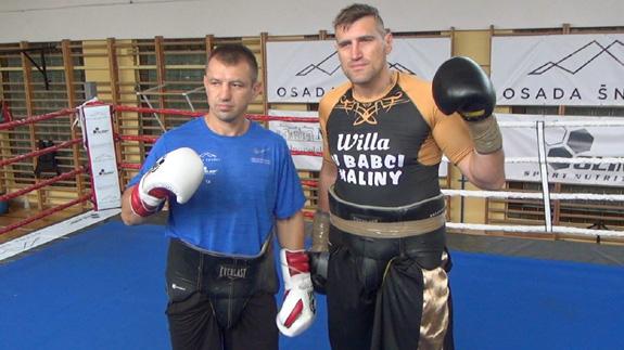 Спарринг Мариуша Ваха с Томашем Адамеком (1)