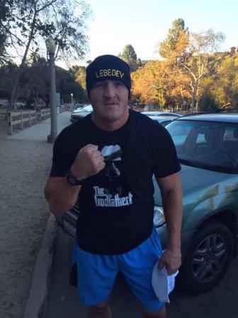 Денис Лебедев продолжает подготовку с Фредди Роучем к бою с Латифом Кайоде (1)