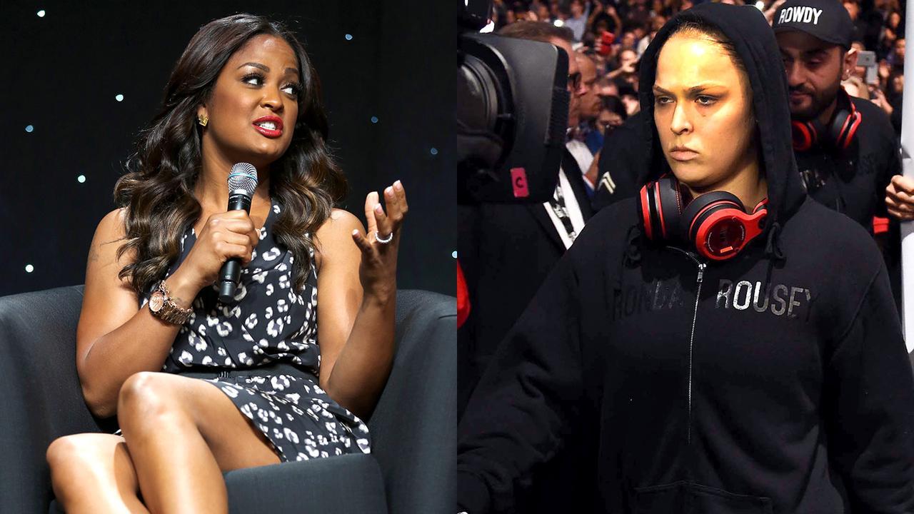 Лейла Али раскритиковала звезду UFC Ронду Роузи (4)