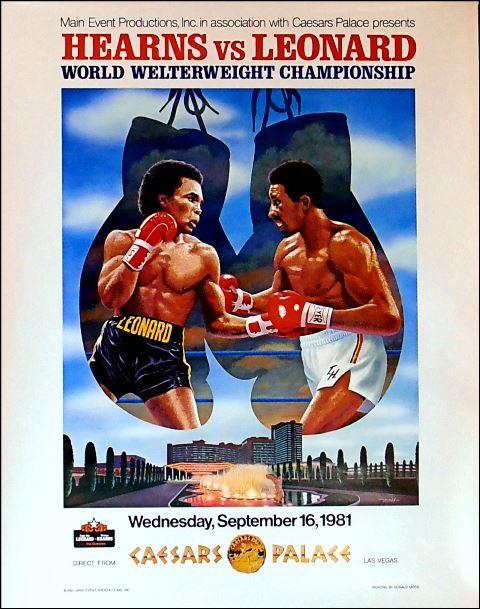 Бокс в этот день: Бой года в исполнении Шугара Рэя Леонарда и Томаса Хернса (1)
