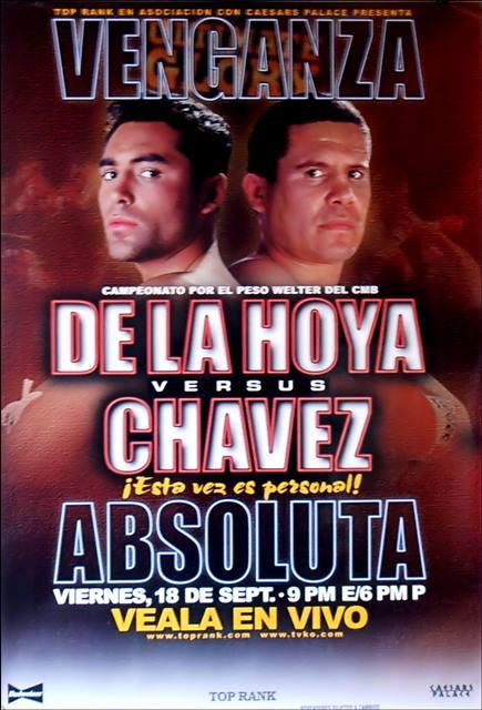 Бокс в этот день: Реванш Оскар Де Ла Хойя - Хулио Сезар Чавес (1)