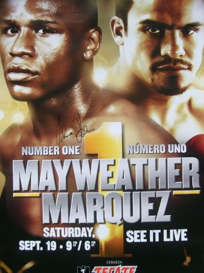 Бокс в этот день: Флойд Мэйвезер младший - Хуан Мануэль Маркес (1)