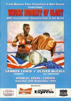 Бокс в этот день: Как Оливер Макколл нокаутировал Льюиса с закрытыми глазами! (1)