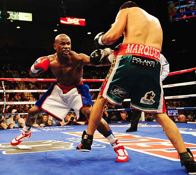 Бокс в этот день: Флойд Мэйвезер младший - Хуан Мануэль Маркес (2)