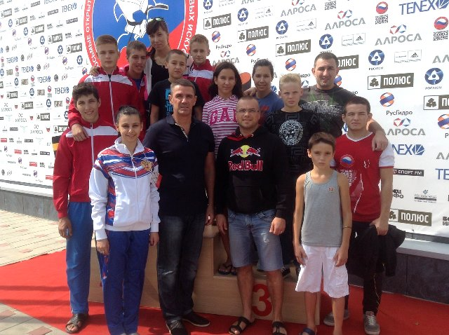 Севастопольцы приняли участие в VIII открытых Всероссийских юношеских играх  (2)