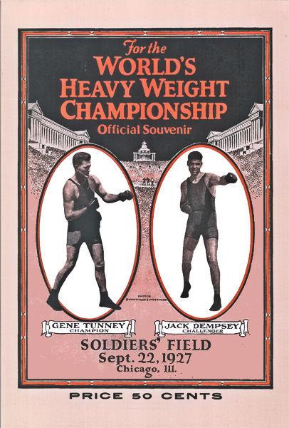 Бокс в этот день: Как чемпион Мира Джин Танней побывал в нокдауне 14 секунд! (1)