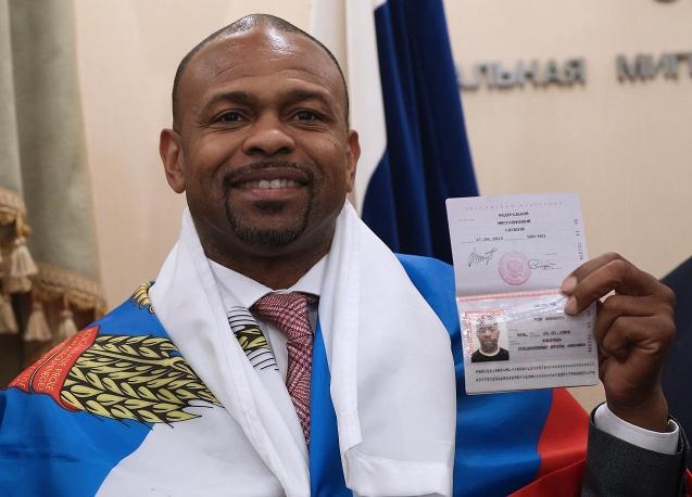 Рой Джонс-младший получил российский паспорт (1)