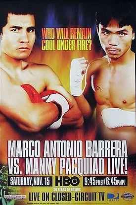 Бокс в этот день: Реванш Мэнни Пакьяо - Марко Антонио Баррейра (1)