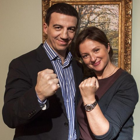 Анна Банщикова в передаче «Боксер и Звезда»: Не надо долго думать, я за Поветкина! (1)
