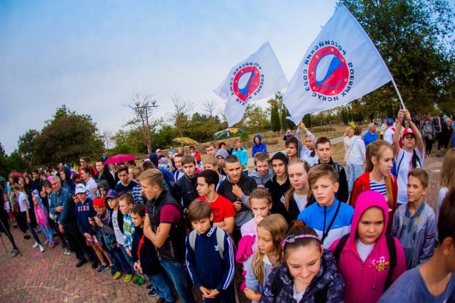 Севастопольский филиал  ММА принял участие во Всероссийском дне ходьбы (2)